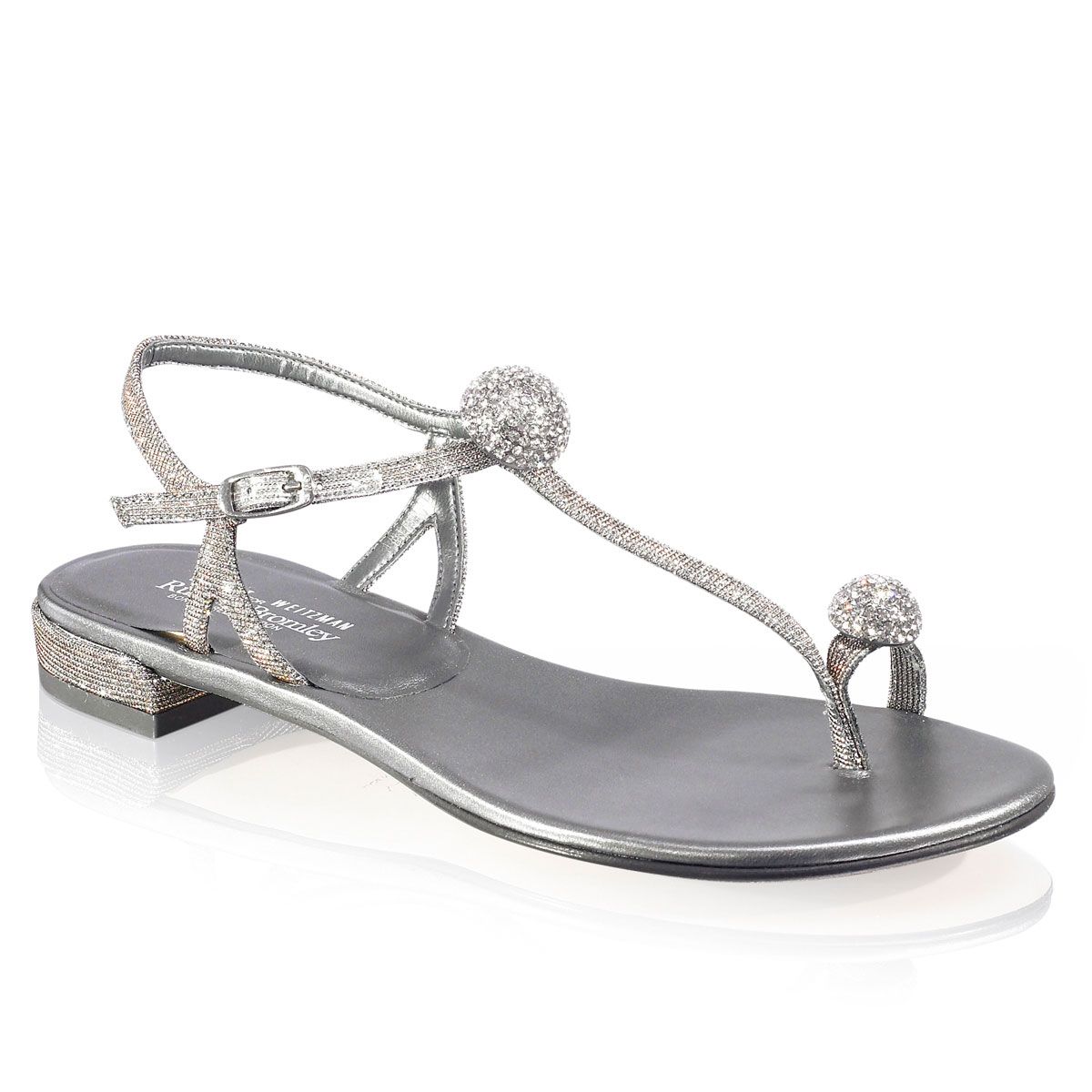 Russell And Bromley FIREBALLS Flat Jewelled Sandal
