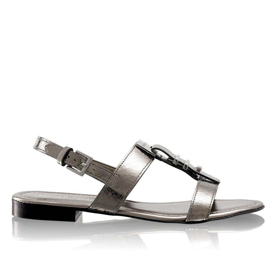 Russell and Bromley NAMEPLATE Flat Hardware Sandal