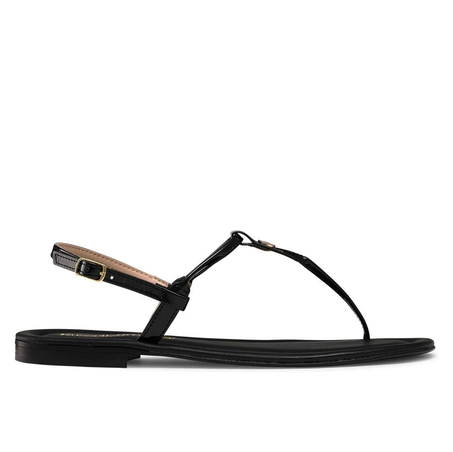 Russell And Bromley THONGBIRD Logo Trim Flat Sandal