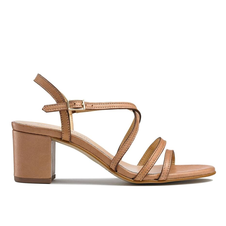 Russell And Bromley BARELY Block Heel Sandal